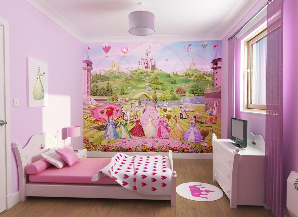 chambre fille deco princesse