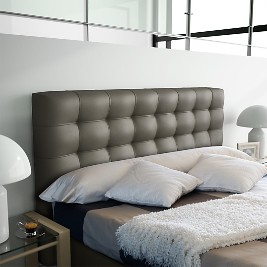 d co chambre lit capitonnee. Black Bedroom Furniture Sets. Home Design Ideas