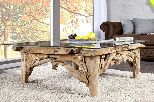 Quelques id es de d coration d 39 int rieur en bois for Idee deco table en bois