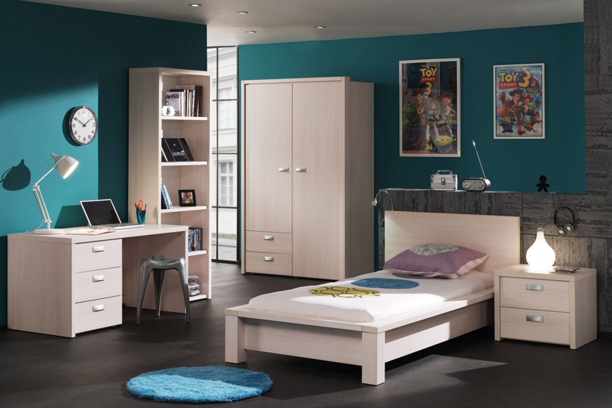 l 39 am nagement d 39 une chambre de jeune au go t du jour. Black Bedroom Furniture Sets. Home Design Ideas