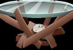 table-en-verre