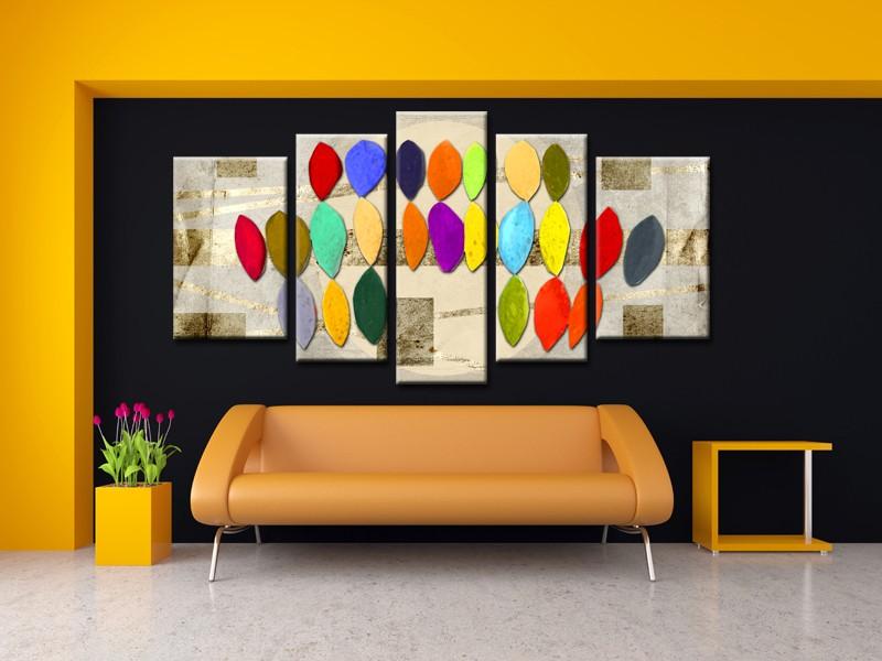 Decoration Murale Le Tableau Abstrait S Invite Dans Votre Interieur