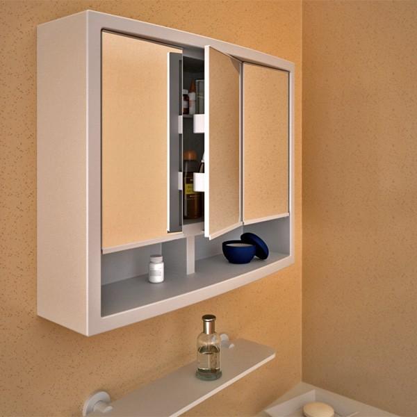 Armoire de toilette les nouveaux mod les innovants - Armoire de toilette avec prise de courant ...