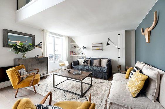 automne hiver les meubles tendances style industriel instant decoration. Black Bedroom Furniture Sets. Home Design Ideas